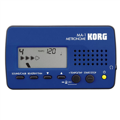 Korg MA-1 Multi Function Digital Solo Metronome Blue/Black MA-1BLBK